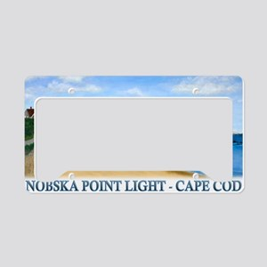 Nobska Point Light License Plate Holder