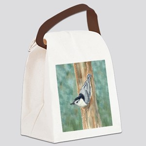 Nuthatch Canvas Lunch Bag