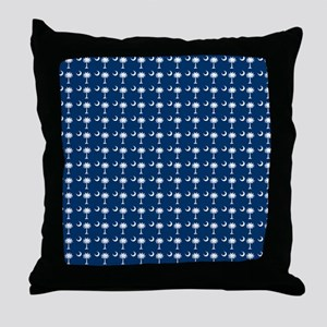 South Carolina State Palmetto Flag Throw Pillow