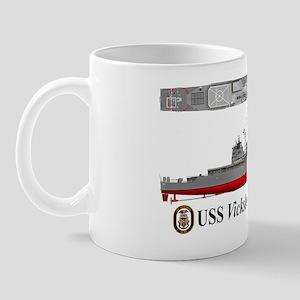 USS Vicksburg CG-69 Mug