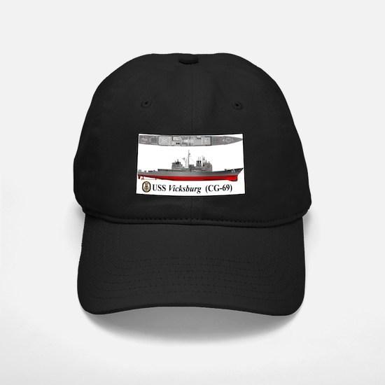 USS Vicksburg CG-69 Baseball Hat