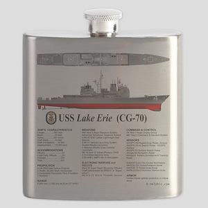 USS Lake Erie CG-70 Flask