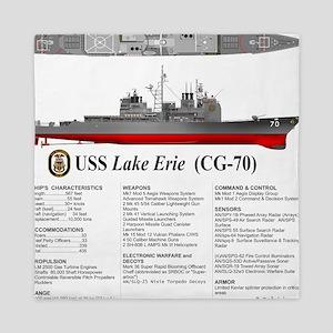 USS Lake Erie CG-70 Queen Duvet