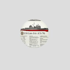 USS Lake Erie CG-70 Mini Button