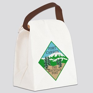 Fort Carson Canvas Lunch Bag