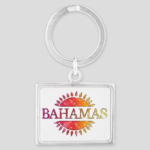 Bahamas Landscape Keychain