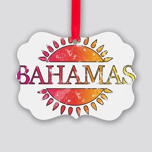 Bahamas Picture Ornament