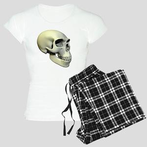 Neanderthal skull Women's Light Pajamas