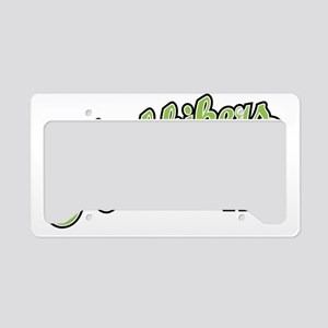 Hitchhikers Front License Plate Holder