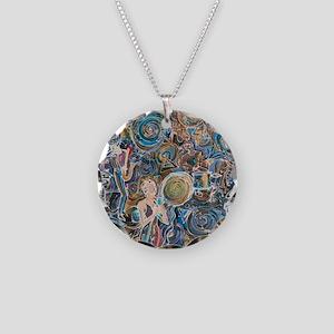 Jaaazzzz Necklace Circle Charm