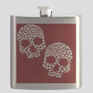 HeartSkull_nook Flask