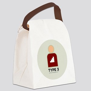 3-Achiever With Number Canvas Lunch Bag