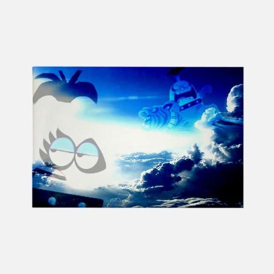 Bloo Skies Rectangle Magnet
