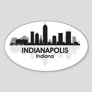 IndianaPolis Sticker (Oval)