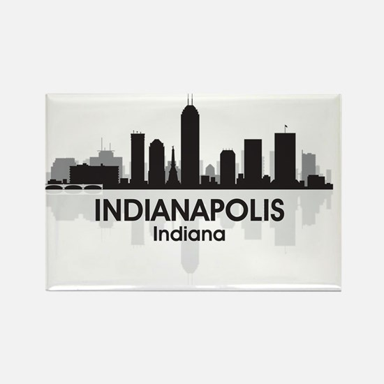 IndianaPolis Rectangle Magnet