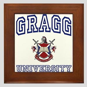GRAGG University Framed Tile