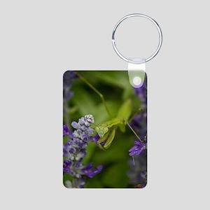 The Mantis Aluminum Photo Keychain