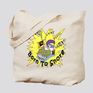 Born To Snore Tote Bag