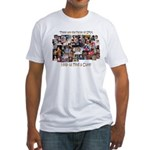 Faces of SMA Fitted T-Shirt