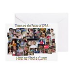 Faces of SMA Greeting Cards (Pk of 10)