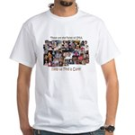 Faces of SMA White T-Shirt