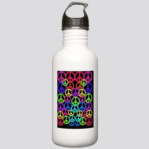 Peace Symbol FF Stainless Water Bottle 1.0L