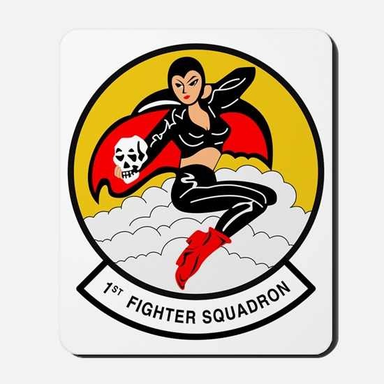 1 FS-1st Fighter Squadron-Fightin Furies Mousepad