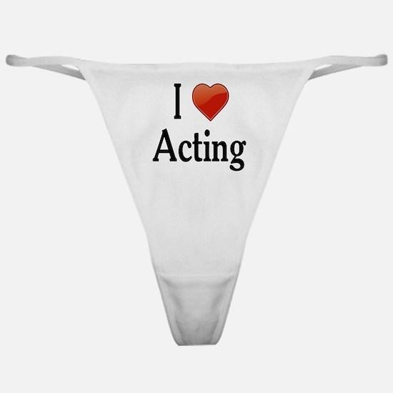 I Love Acting Classic Thong