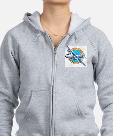 China Clipper Bar and Grill Zip Hoodie