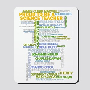 Proud Science Teacher Mousepad