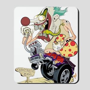 Cropped Killer Clown Mousepad