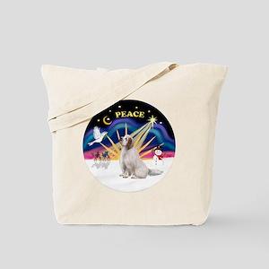 R-X-Sunrise-CLumberSpaniel Tote Bag