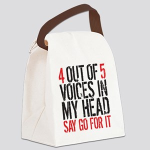 4 out of 5 Canvas Lunch Bag