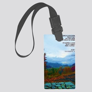 James 4:14 Large Luggage Tag
