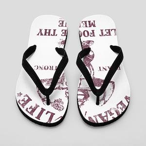 Vegan for Life Flip Flops