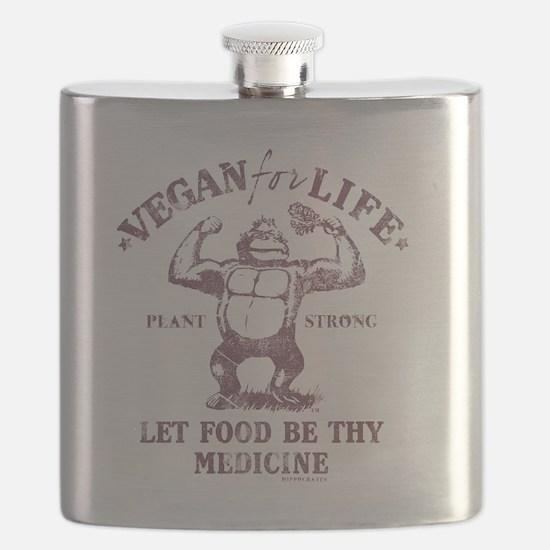 Vegan for Life Flask