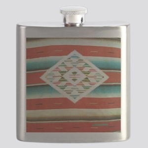 Mexican Serape Flip Flops Flask