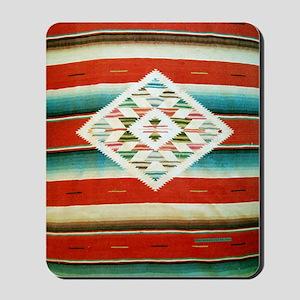 Mexican Serape Flip Flops Mousepad