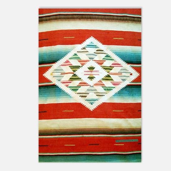 Mexican Serape Flip Flops Postcards (Package of 8)