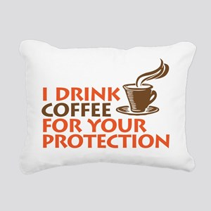 for your protection Rectangular Canvas Pillow