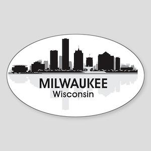 Milwaukee Sticker (Oval)