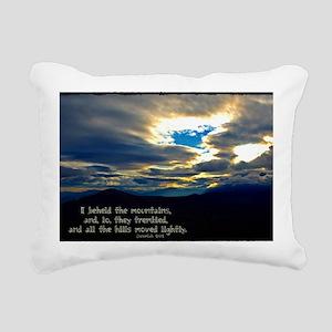 Jeremiah 4:24 Rectangular Canvas Pillow