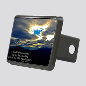 Jeremiah 4:24 Rectangular Hitch Cover