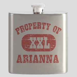 Property of Arianna Flask