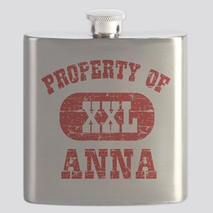 Property of Anna Flask