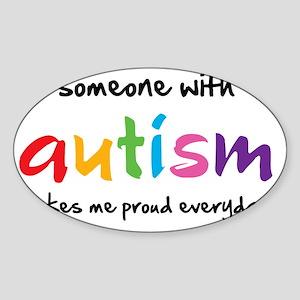 Proud Autism Sticker (Oval)