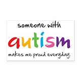 """Autism 3"""" x 5"""""""