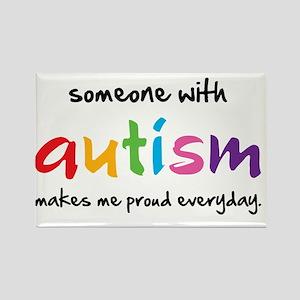 Proud Autism Rectangle Magnet