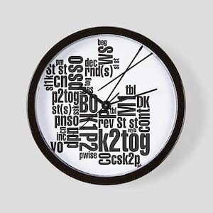 K.A. Black Wall Clock