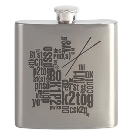 K.A. Black Flask